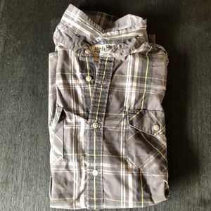 Mens Urban pipeline button up